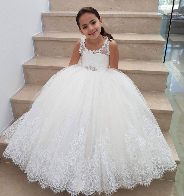 Buy the White Flower Girl Dresses That You Really Like