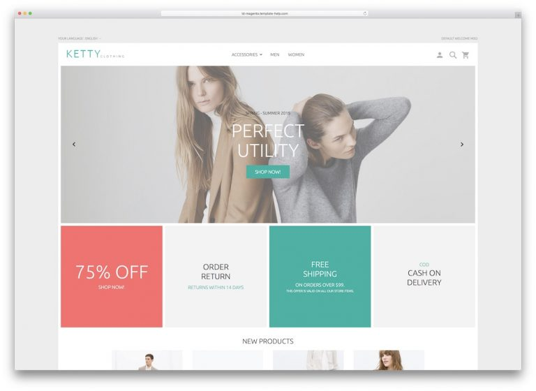 What are the Trends Magento ECommerce Design