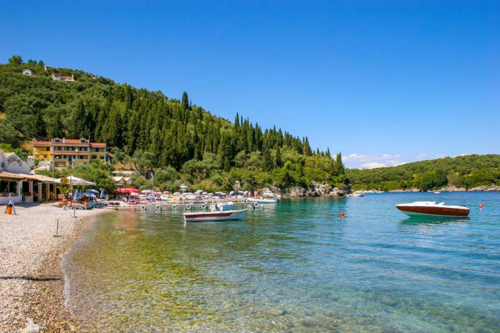 Agni Bay In Corfu