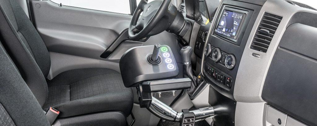 Electronic hand controls: vans